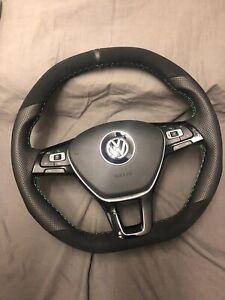 Steering Wheel Vw Transporter  t6 Amarok Gti Gtd Rline Falt Bottom