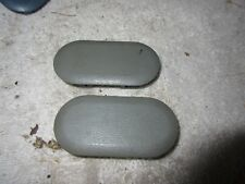 MUSTANG Armrest Bolt Covers Console Trim Plugs 87 88 89 90 91 92 93 GRAY