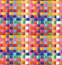 Klebefolie Möbelfolie Rattan Design bunt 45 cm x 200 cm Dekorfolie selbstklebend