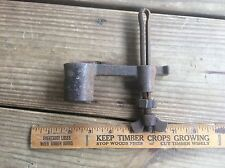 Crosscut Saw Parts , Shabby Antique Metal , Lumberjack, Country , Farm