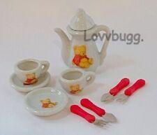 Little Bears Mini Tea Set for American Girl Doll Food Accessory LOVVBUGG US SLR!