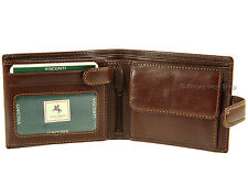 Visconti Mens Contactless Fraud RFID Blocking Italian Style Leather Wallet - MZ5