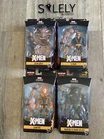 Marvel Legends X-Men 2020 Wave Sugarman BAF LOT OF 4 Jean Grey Beast Xman Sunfir