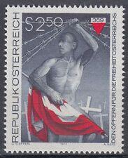 Österreich Austria 1977 ** Mi.1558 Freiheitskämpfer Freedom fighter