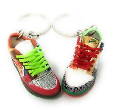 Pair SB Dunk Low Mixed up Buck OG Sneakers Mini 3D Keychain Ring Shoes