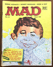 MAD MAGAZINE #41 - Good - Classic Early Mad! Sept 1958
