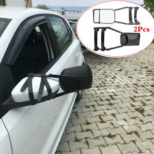 Adjustable Clip-on Extension Towing Mirror Car Trailer Wing Mirror Extender 2Pcs