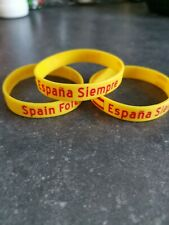 """2 x Spain Forever bracelet, """"Espana siempre"""""""