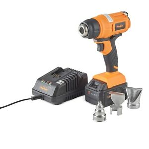 VonHaus 18V Cordless Heat Gun with 4Ah Battery and Charger