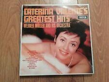 CATERINA VALENTE * GREATEST HITS * VINYL LP EX/EX 1965 DECCA SKL 4737