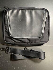 Waterfield Designs SF Bags Tech Folio Plus - Black Ballistic Nylon/Black Leather
