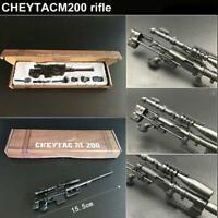 2018 6Pcs/Set 1:6 Scale RPG Gewehr Pistole Gun Modell Automatic Spielzeug I Q9M5