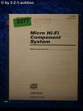 Sony Bedienungsanleitung CMT EX5 Component System (#2277)