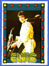 1978 Monty Gum ELVIS PRESLEY card from Holland (blank back)                 k