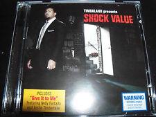 Timbaland Shock Value Australian 2 CD Set With Bonus Tracks – Like New