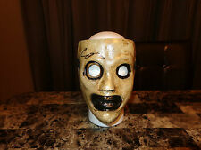 Slipknot Rare Corey Taylor Authentic Hand Signed Prop Hard Shell Mask Stone Sour