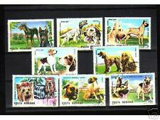 0921++ROUMANIE   SERIE TIMBRES  CHIENS   N°1