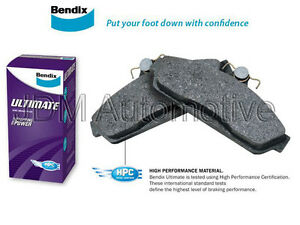 DB1766ULT 1 set x Bendix Ultimate Brake Pad FOR HOLDEN COMMODORE VE