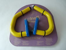 Cinelli spinaci handlebar extensions yellow blue for Vintage Road Bicycle NOS