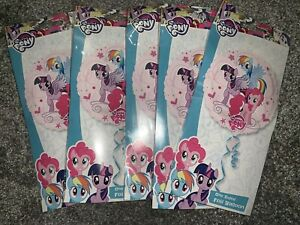 """5 x 17"""" inch Cute My Little Pony Helium Foil Balloons Girls Party Decoration UK"""