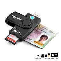 Rocketek Smart Card Reader For Military CAC Common Access-Bank ID Card SD/TF