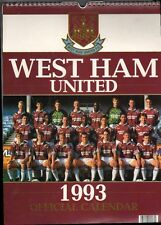 WEST HAM UNITED F.C. 1993 OFFICIAL CALENDAR