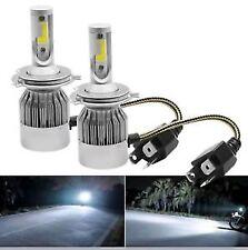 1 Pair H4-C6 Led Headlight Bulb 36W/3800LM - High Low Beam Bulbs - Headlight H4