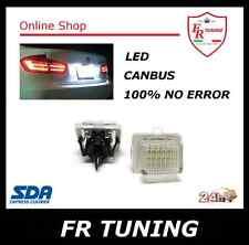 MERCEDES CLASSE S W221 C W204 E KIT LUCI TARGA A LED CAN BUS 100% NO ERROR 6000K