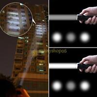 2000 Lumen Zoomable XML T6 LED 18650 Flashlight Light Focus Torch Zoom Lamp