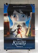 "Secret World of Arrietty Studio Ghibli Disney DS Movie Poster 2010 27"" x 40"""