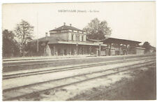 Bischwiller Alsace France railway station dated 1927