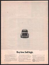 1971 VOLKSWAGEN VW Bug Beetle AD Buy low. Sell high.