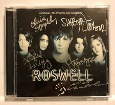 Roswell TV Soundtrack by Various Artists CD 2002 Nettwerk *SIGNED BY ACTORS*