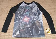 "Fifth Sun ""Boba Fett"" Mens Size (S) Long Sleeve Baseball Style T-Shirt! New!"