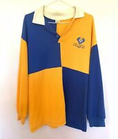 HMAS Torrens Decommissioning Crew 1998 Yellow Blue Rugby Jersy Australian Navy