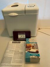 West Bend Bread Maker Machine Model 41065 Tested Working Vintage Bread Mix