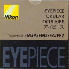 Nikon FM3A/FM2/FA/FE Finder eyepiece Genuine Nikon New
