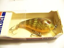 (1)Rebel Naturalized Teeny Shallow-R,(nisb) 2in.,Crankbaits,Lures,Old Tackle,Box