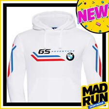 Felpa BMW GS Adventure Inspired WHITE - Vintage 80s - High Quality - MRS019