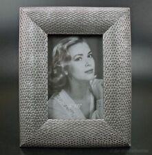 Art Deco Stil Bilderrahmen Fotorahmen Rechteckig 13x18 Silber Bauhaus Antik NEU