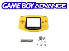 Coque remplacement jaune neuve Nintendo Game Boy Advance Gameboy Advance GBA