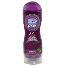 Durex Play Massage 2 in 1 200ml gel lubrificante secchezza vaginale non asciuga