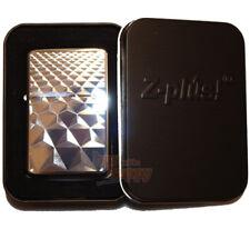Feuerzeug Z-Plus Cool Trapez chrome polish inklusive Gravur