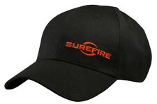 Surefire Adjustable Logo Cap, Black