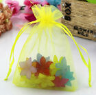 NEW 50pcs Organza Wedding Xmas Party Favor Gift Candy Bags Jewellery pouches