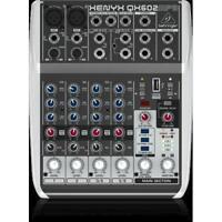 BEHRINGER QX602-MP3 XENYX MIXER 6 CANALI LETTORE MP3/USB EFFETTI VOCE KARAOKE RE