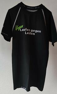 """Laufshirt """"Laufen gegen Leiden"""" in schwarz, von thoni mara, Gr. L bzw. Gr. 40"""