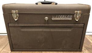 Vintage Waterloo 40520 Industrial Machinist Tool Box Chest 7 Drawers Big Metal