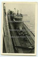 Original German WW2  U-boat photo uboat  WWII foto submarine ...