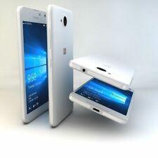 Microsoft Lumia 650 DUAL SIM UNLOCKED Smartphone -White Light silver 16 GB